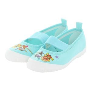 アンパンマン 上履き ムーンスター 子供靴 バレー02 ライトブルー 上靴 入園式 入学式 moon...