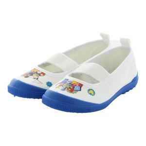 ディズニー ミッキーマウス 上履き ムーンスター 子供靴 DN08バレー ブルー 上靴 入園式 入学...