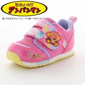 アンパンマン 子供靴 ベビーシューズ APM B16 ピンク...