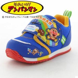 アンパンマン [セール] ムーンスター 子供靴 ベビーシューズ APM B16 ブルー moonst...