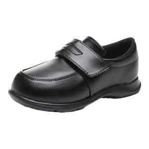 ムーンスター フォーマルシューズ キッズ ローファー 子供靴 キャロット CR C2092 ブラック...