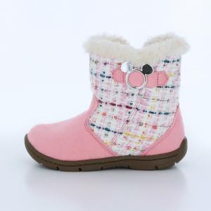 1806b09930a92 ... ディズニー ミッキーマウス  セール  子供靴 キッズブーツ DN C1222 ピンク ムーンスター MOONSTAR ...