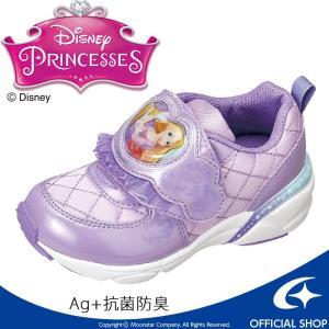 [セール] ディズニー プリンセスシリーズのラプンツェル キッズシューズです。甲バンドにキャラクター...