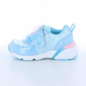 ディズニー プリンセス シンデレラ [セール] 子供靴 キッズスニーカー DN C1225 PRN サックス disney_y|moonstar|04