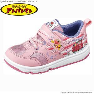 アンパンマン [2020年春物新作] 子供靴 キッズスニーカー APM C157 ピンク