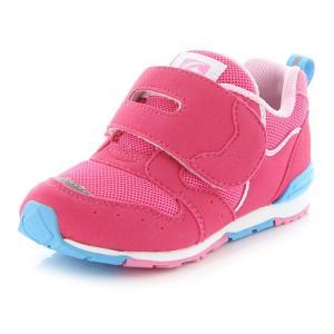 ムーンスター [セール] 子供靴 キッズスニーカー 抗菌防臭 女子 MS C2270 チェリー mo...