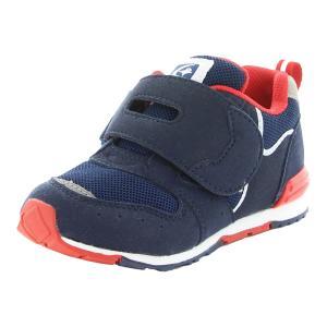 ムーンスター [セール] 子供靴 キッズスニーカー 抗菌防臭 MS C2270 ネイビー moons...