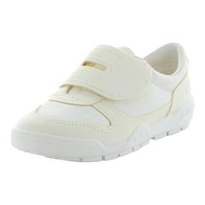 ムーンスター 子供靴 ジュニア 運動靴 FALCON(ファルコン) スクールセーフ03 ホワイト m...