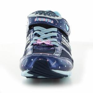 バネのチカラ 子供靴 ジュニアスニーカー 女の...の詳細画像5