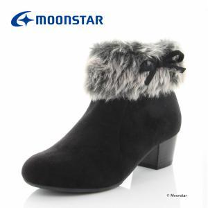 ムーンスター [セール] 子供靴 ジュニアブーツ SG J525 ブラック