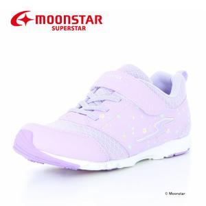 バネのチカラ 女子 [セール] MOONSTAR 子供靴 ジュニアスニーカー ムーンスター スーパースター SS J943 パープル 運動会