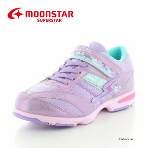 バネのチカラ [セール] MOONSTAR 子供靴 ジュニアスニーカー 女の子 ムーンスター スーパ...