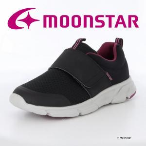 ムーンスター [セール] レディース ウォーキングシューズ ADL 04 ブラック moonstar...