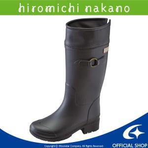 [セール] 人気ブランド「ヒロミチナカノ」のジュニア用ラバーブーツです。裏材には防寒性のあるスポンジ...