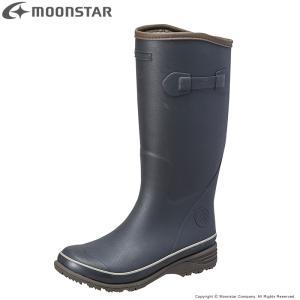 長靴 ムーンスター [セール] moonstar メンズ レインブーツ MFL44R ネイビー 雨靴...