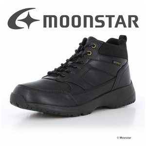 ムーンスター [2020年秋冬新作] moonstar メンズ ブーツ SPLT WM066 ブラッ...