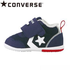 コンバース CONVERSE [2020年春物新作] ベビーシューズ 子供靴 ミニ RS 2 ネイビ...