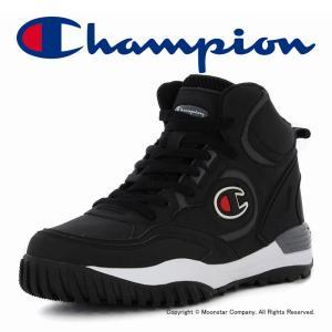 チャンピオン [セール] Champion メンズ/レディース ウインターシューズ CP LA044W ALL COURT SNOW MID 2 ブラック|ムーンスター 公式ショップ