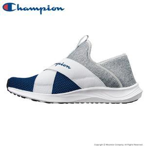 チャンピオン [セール] Champion メンズ/レディース スニーカー CP ACT022 BEANS FOAM SLIP3 ネイビー/グレイ|ムーンスター 公式ショップ