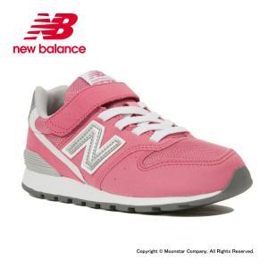 ニューバランス [残りサイズ21.0cm24.0cmセール] newbalance 子供靴 女子 キッズジュニアスニーカー NB YV996 CPK ピンク|ムーンスター 公式ショップ