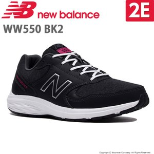 ea7da91f53d3d ニューバランス newbalance [2019年秋新作] レディース ウォーキングシューズ NB WW550 BK2 2E ブラック