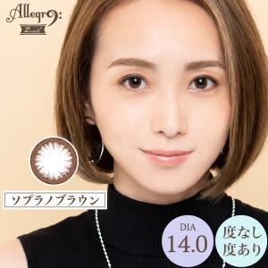カラコン カラーコンタクトレンズ アレグロ 2week 1箱4枚入 度あり 度なし 14.0 荒井愛花 Allegro morecon 02