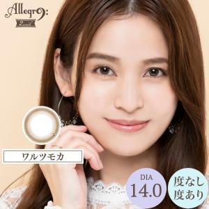 カラコン カラーコンタクトレンズ アレグロ 2week 1箱4枚入 度あり 度なし 14.0 荒井愛花 Allegro morecon 04