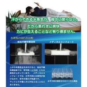 マットレス 腰痛 メディカルコンフォート シングル 新生活応援 人気 おすすめ 三つ折り 丸洗い |morecre-store|04