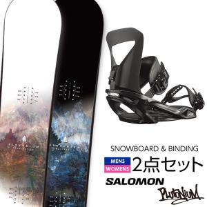 早期予約 取付無料 FANATIC ファナティック FNTC TNT スノーボード & SALOMON サロモン PACT バインディング 2点セット
