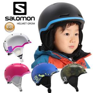 18-19  SALOMON サロモン キッズ  ヘルメット GROM スキー・スノーボード