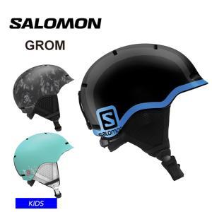 19-20 2020  SALOMON サロモン キッズ  ヘルメット GROM スノーボード スキ...