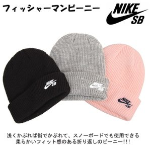 2019 NIKE ナイキ フィッシャーマンビーニー  スノーボード ニット帽