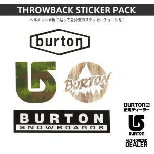 BURTON バートン THROWBACK STICKER PACK 15-16 15/16 2016