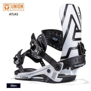 早期予約 UNION ユニオン ATLAS アトラス 21-22 2022 スノーボード ビンディン...
