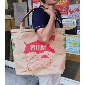 玄米空き袋で作ったエコバッグ|morie