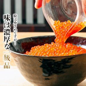 17日10時よりSALE / いくら イクラ いくら醤油漬け サーモントラウト 250g イクラ 丼 冷凍便 御中元|morigen|02