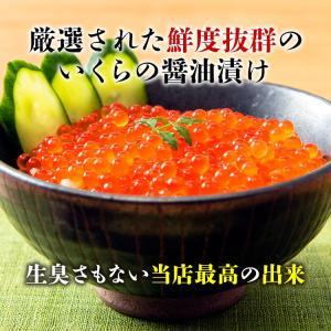 17日10時よりSALE / いくら イクラ いくら醤油漬け サーモントラウト 250g イクラ 丼 冷凍便 御中元|morigen|03
