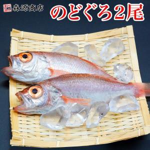 高級魚 のどぐろ 2尾 約350g ノドグロ のど黒 アカムツ 塩焼き 煮つけ 送料無料 冷凍便 お...