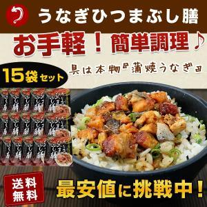 鰻ひつまぶし膳 15食分 1食×15袋セット うなぎ ウナギ...