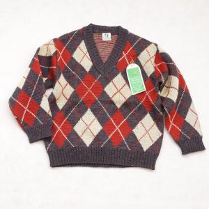 日本製 フクスケ Vネックのセーター 110cm (1612...