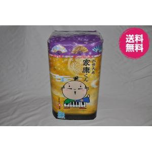 静岡の可愛いゆるキャラ 家康くんトイレットペーパーダブル/香り付12Rx4 48個入り|morika