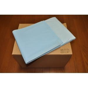介護シーツさわやか 1箱x25枚入りお徳用 ベット巻込みサイズ 90cm幅x150cm全長(両端30cmの折込付き)|morika