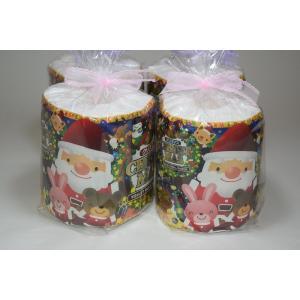 クリスマストイレットペーパーW個包装(ラッピング)4R|morika