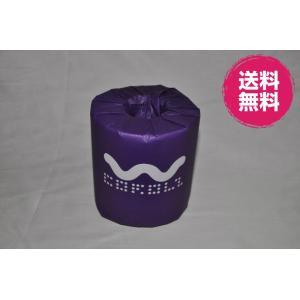 カラーズパステルトイレットシリーズ パープル ダブル/香り付/個別包装 48個入り|morika