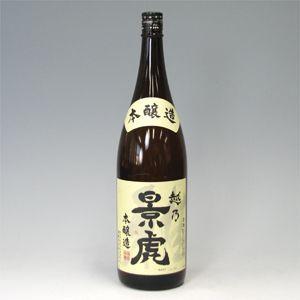 越乃景虎 本醸造 1800ml 新潟県 morimoto