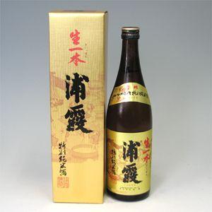 浦霞 特別純米酒 生一本 720ml  morimoto