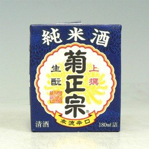 菊正宗 上撰 生もと純米 さけパック 180ml|morimoto