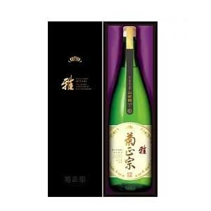菊正宗 嘉宝蔵「雅」 特別純米酒 1.8L|morimoto