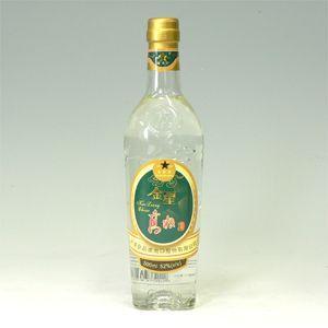 金星高粮酒(キンボシコウリャンシュ)瓶 アルコール52% 500ml|morimoto