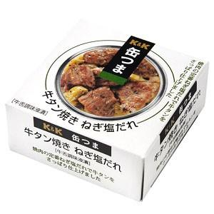 K&K  缶つま 牛タンねぎ塩だれ 60g|morimoto